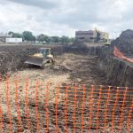 Preparing Soil of Construction Site